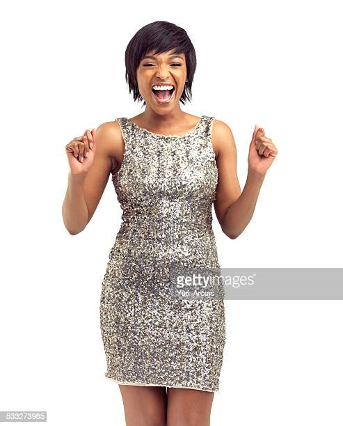 it's friday!!! - sequin dress stock pictures, royalty-free photos & images