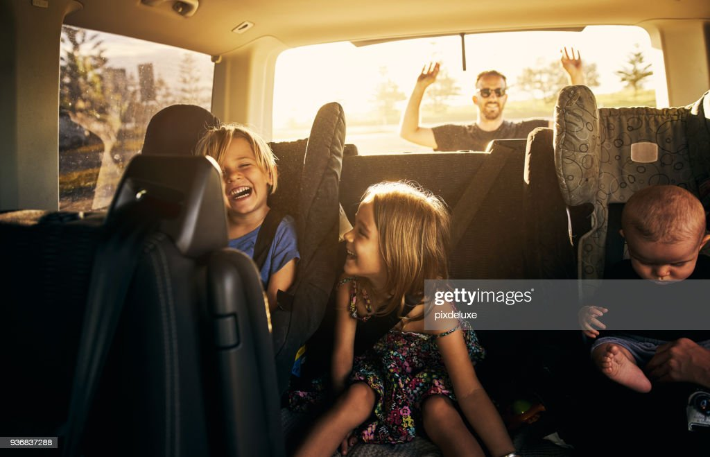 It's going to be fun fun fun! : Stock Photo