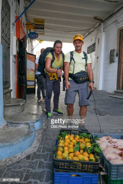 'It's Gonna Be A Fragrant Day' In Detour A Brittany Austin and Lucas Bocanegra must make food deliveries on foot to three different locations in...
