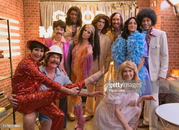 "It's Halloween on ABC's ""Good Morning America,"" Thursday, October 31, airing on ABC. LARA SPENCER, SAM CHAMPION, SARA HAINES, MICHAEL STRAHAN, AMY..."