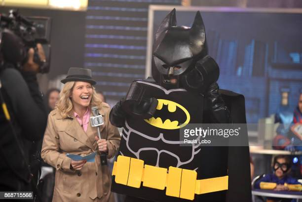 AMERICA It's Halloween on 'Good Morning America' Tuesday October 31 airing on the ABC Television Network SARA