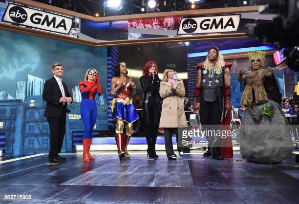 AMERICA It's Halloween on 'Good Morning America' Tuesday October 31 airing on the ABC Television Network GEORGE