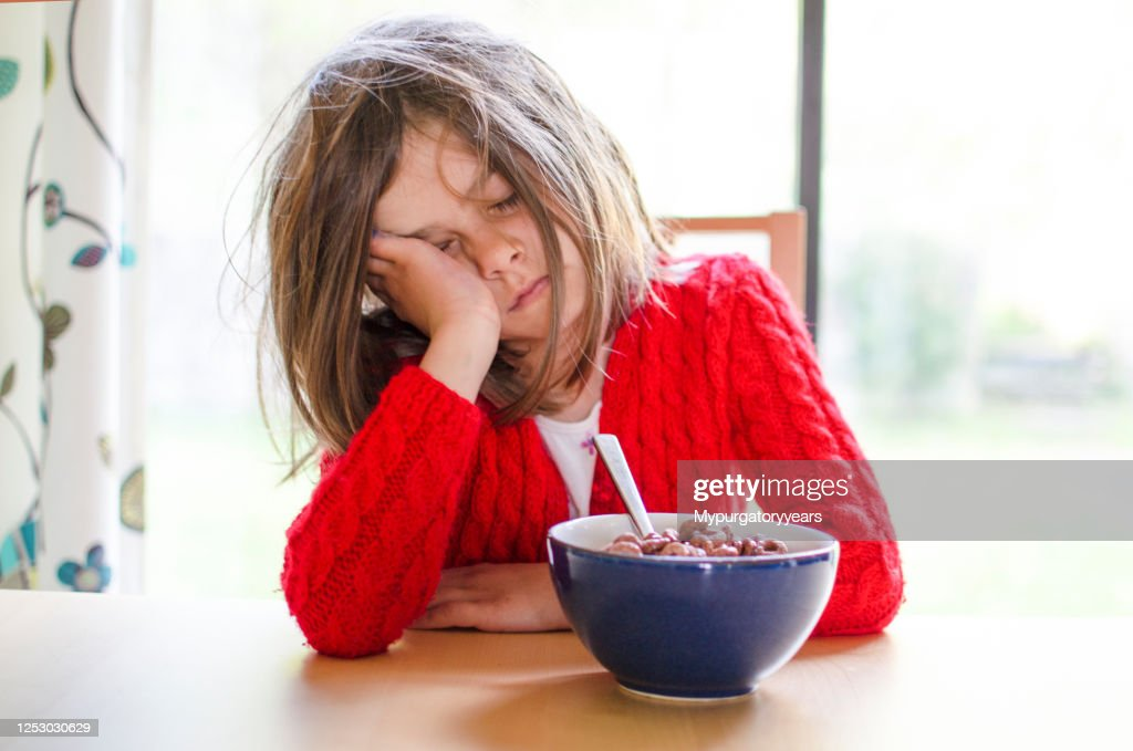 It's hard to wake up : Stock Photo
