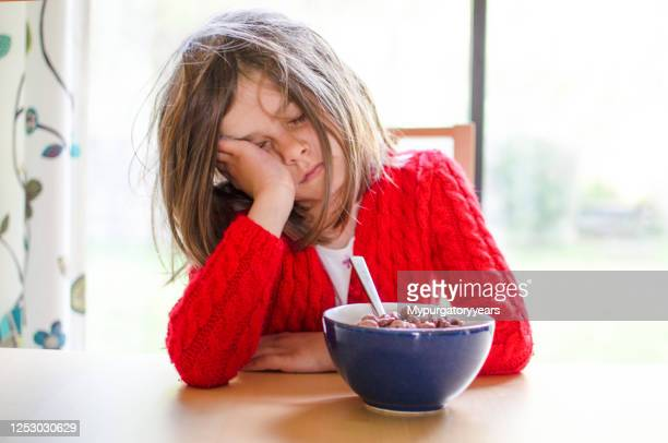 it's hard to wake up - child stock pictures, royalty-free photos & images