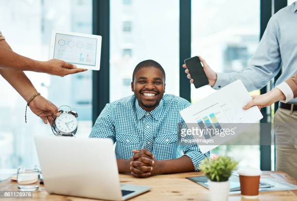 it's important to stay cool, calm, and collected - delegating stock photos and pictures
