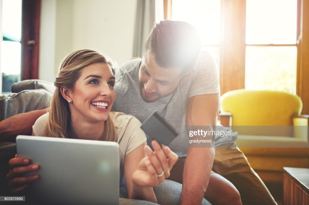 It's just cheaper to shop online! : Stock Photo