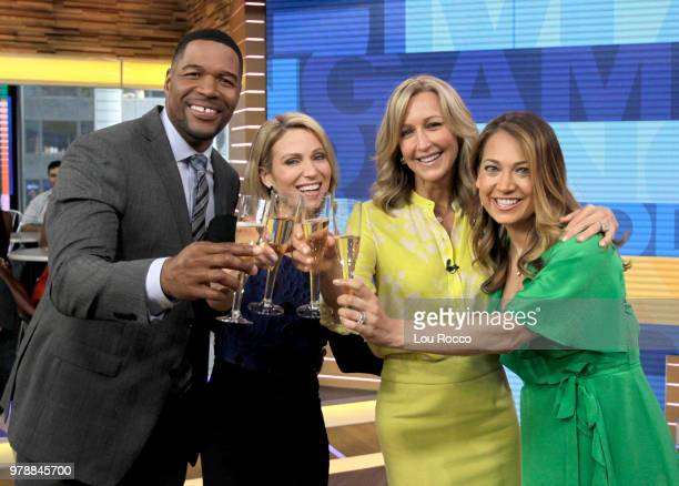 AMERICA It's Lara Spencer's birthday on Good Morning America on Tuesday June 19 2018 airing on the Walt Disney Television via Getty Images Television...