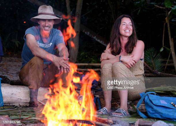 It's Like a Survivor Economy Ethan Zohn and Parvati Shallow on the Second episode of SURVIVOR WINNERS AT WAR airing Wednesday Feb 19 on the CBS...