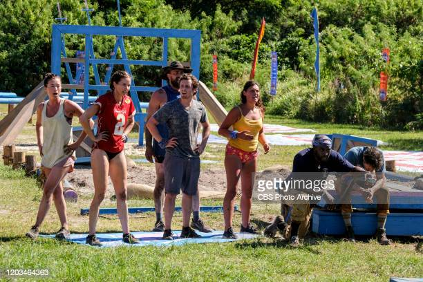 It's Like a Survivor Economy Parvati Shallow Danni Boatwright Ben Driebergen Adam Klein Michele Fitzgerald Jeremy Collins and Ethan Zohn on the...