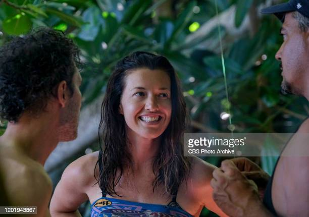 It's Like a Survivor Economy Parvati Shallow on the Second episode of SURVIVOR WINNERS AT WAR airing Wednesday Feb 19 on the CBS Television Network