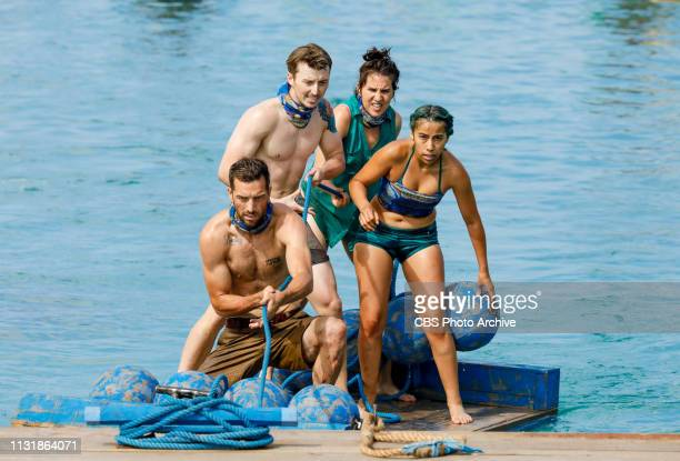 It's Like the Worst Cocktail Party Ever Eric Hafemann Gavin Whitson Aubry Bracco and Wendy Diaz on the fifth and sixth episode of SURVIVOR Edge of...