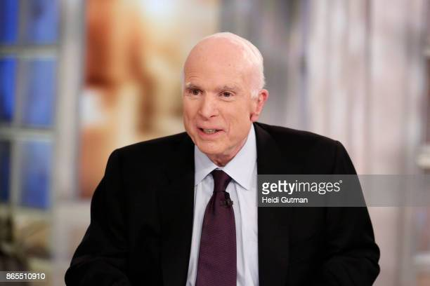 THE VIEW It's Meghan McCain's Birthday with a special visit from her father Senator John McCain on The View airing Monday October 23 2017 on Walt...