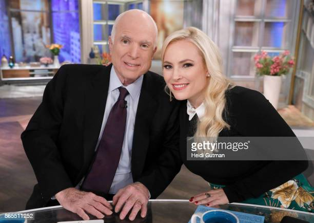 THE VIEW It's Meghan McCain's Birthday with a special visit from her father Senator John McCain on 'The View' airing Monday October 23 2017 on ABC's...