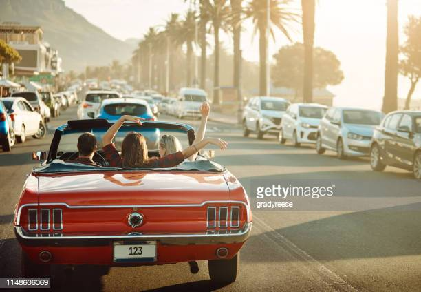 it's more than just a drive - convertible stock pictures, royalty-free photos & images