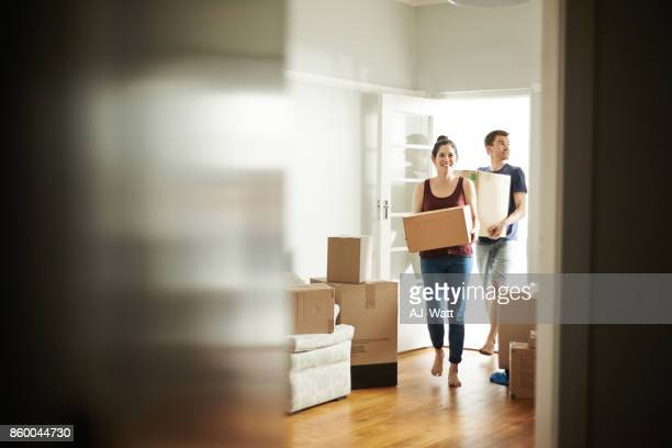 it's moving day - unpacking stock pictures, royalty-free photos & images