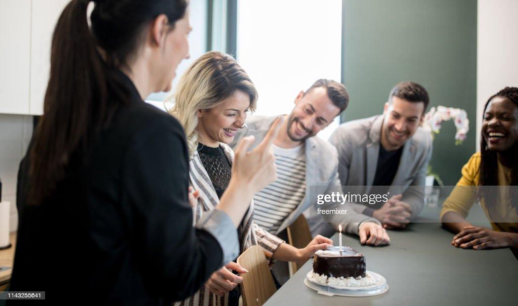 It's my birthday : Stock Photo