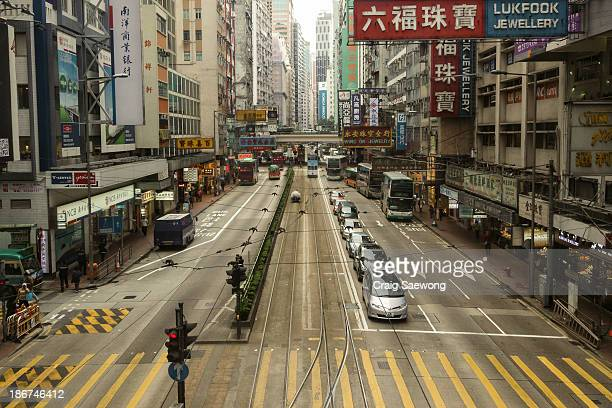 CONTENT] It's not often you find a street so still in a busy city Shot taken from Causeway Bay Hong Kong
