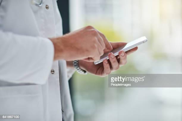 Es ist ein Weg, um Patienten informiert zu halten
