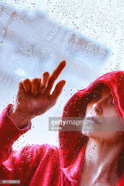C' est la pluie à l'extérieur
