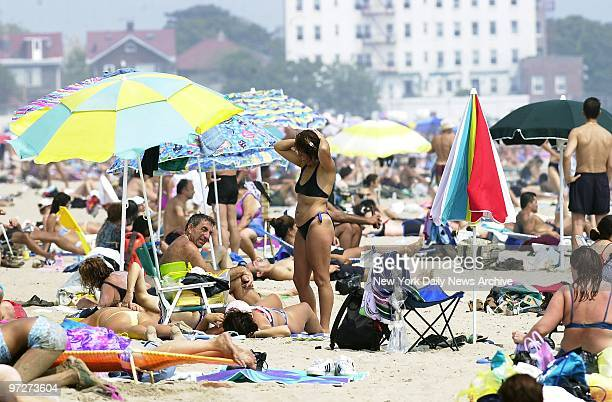 It's simmer time in New York hazy hot and humid and Brighton Beach offers some Brooklynites a hopedfor escape from the weather The temperature soared...