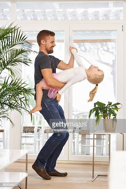 It's so fun to dance with daddy