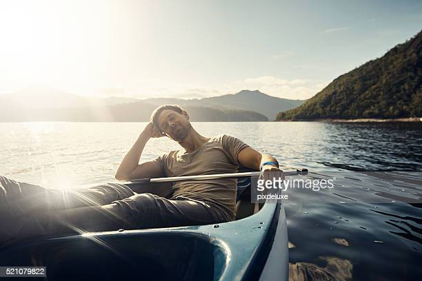 it's so peaceful out here - small boat stock pictures, royalty-free photos & images