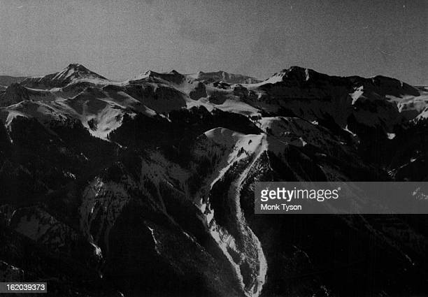 MAY 16 1968 MAY 17 1968 It's Still Winter on Wolf Creek Pass Deep snow still occupies a high position in the San Juan Mountains overlooking Wolf...