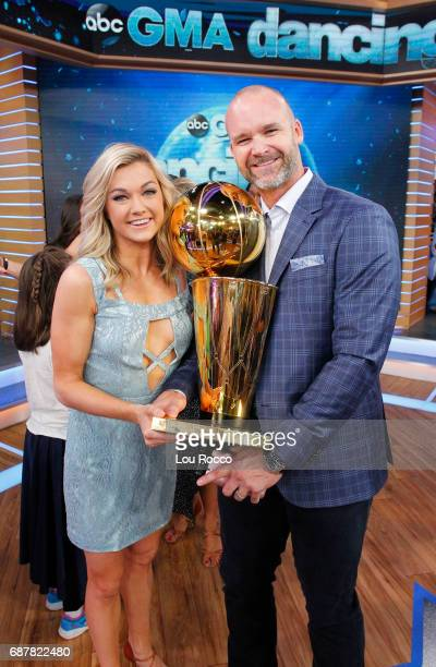 AMERICA It's the 'Dancing with the Stars' after party on 'Good Morning America' Wednesday May 24 airing on the ABC Television Network LINDSAY