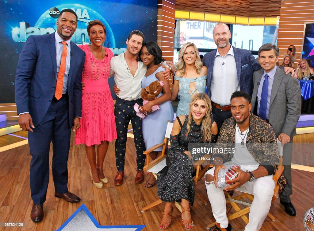 AMERICA - It's the 'Dancing with the Stars' after party on 'Good Morning America,' Wednesday, May 24, 2017, airing on the ABC Television Network. MICHAEL