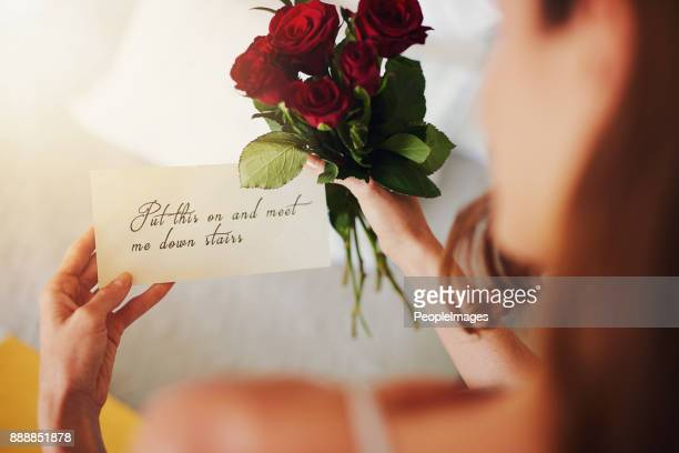 it's the small gestures that matter the most - love letter stock photos and pictures
