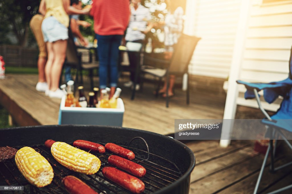 It's the weekend, time to get your grill on : Stock Photo