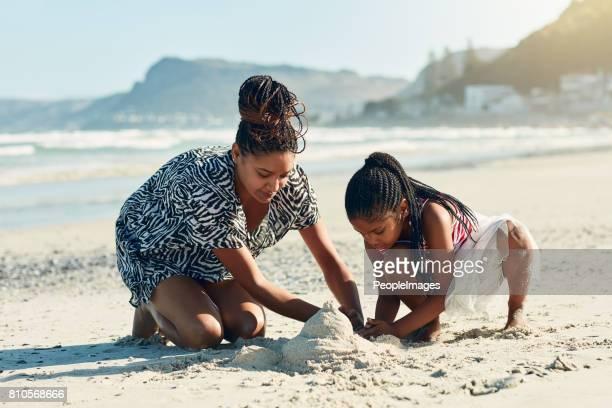 C'est l'activité de leur plage préférée
