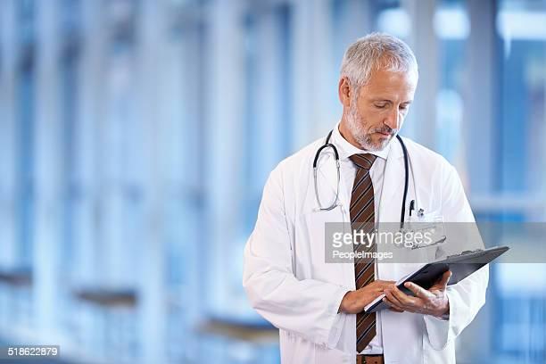 Es ist an der Zeit, auf meine Patienten untersuchen lassen