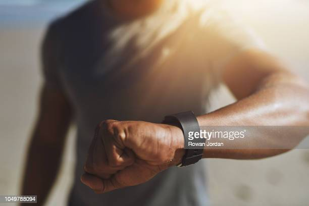 it's time to get going - fitness tracker stock pictures, royalty-free photos & images