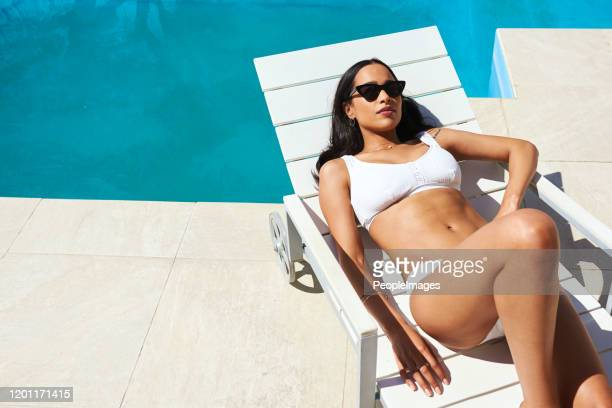 it's time to relax and refresh - sunbathing stock pictures, royalty-free photos & images