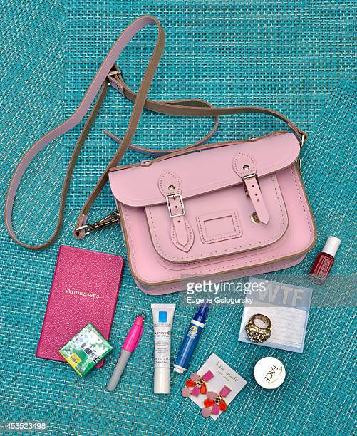 #ItsInTheBag at Gilt Cambridge Satchel Company Mini Capsule Collection Breakfast on August 12 2014 in New York City