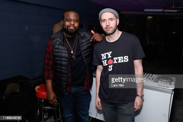 ItsParle and DJ MIck attend the private opening of the Good Luck Dry Cleaners Bowery location at 3 East 3rd on December 19 2019 in New York City