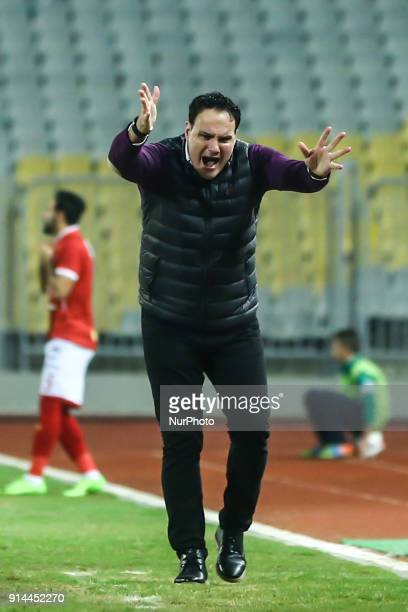 Ittihad Head Coach Juan Jose Maqueda during the Egypt Primer League Fixtures 22 Match Between AlAhly and Alittihad in Borg Alarab stadium in...