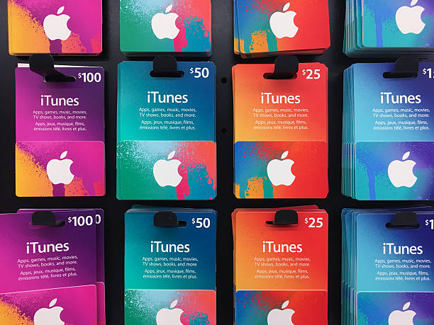 Itunes music gift cards of different values displayed for itunes music gift cards of different values displayed for sale negle Image collections