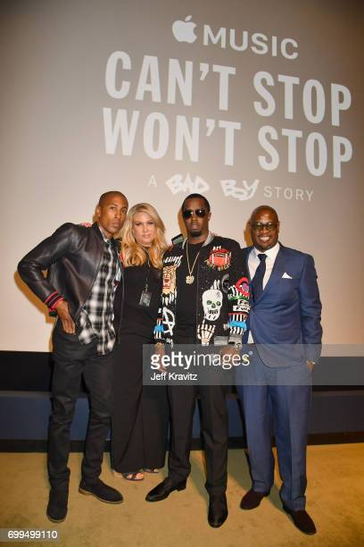 iTunes/Apple Music Head of Original Content Larry Jackson President of Production Film and Television at Live Nation Heather Parry Sean Diddy Combs...