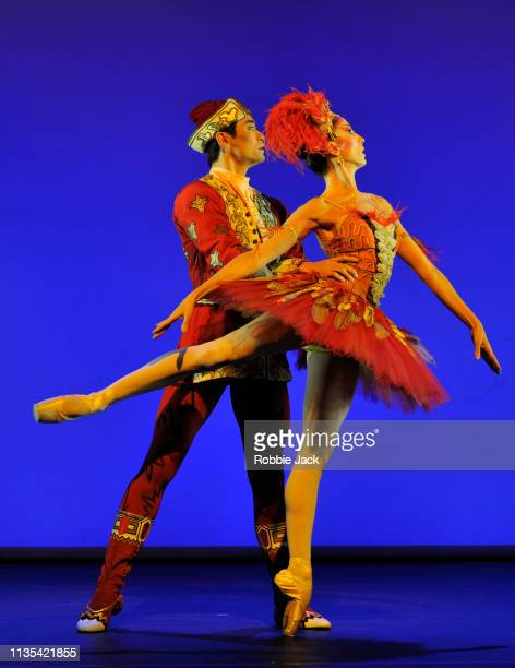 Itzair Mendizabal and Ryoichi Hirano in The Firebird a section from Annette Page Tribute to a Ballerina at The Linbury Theatre The Royal Opera House...