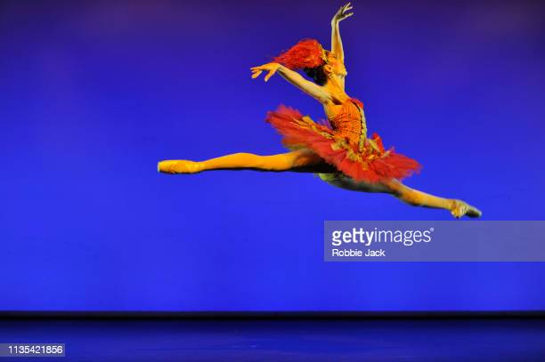 Itzair Mendizabal in The Firebird from the Annette Page Tribute to a Ballerina at The Linbury Theatre The Royal Opera House on March 12 2019 in...