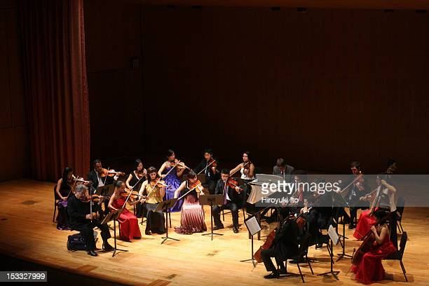 Itzhak Perlman and members of the Perlamn Music Program performing at the Metropolitan Museum on Saturday night October 3 2009This imageItzhak...