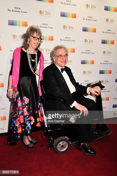 Itzhak Perlman and Toby Friedlander arrive at the 38th Annual Kennedy Center Honors Gala at the Kennedy Center for the Performing Arts on December 6...