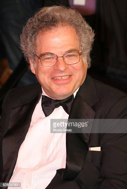 Itzhak Perlman during 2006 Vanity Fair Oscar Party at Morton's in West Hollywood California United States