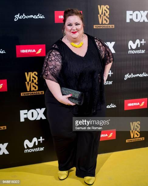 Itziar Castro attends 'Vis A Vis' Madrid Premiere on April 19 2018 in Madrid Spain