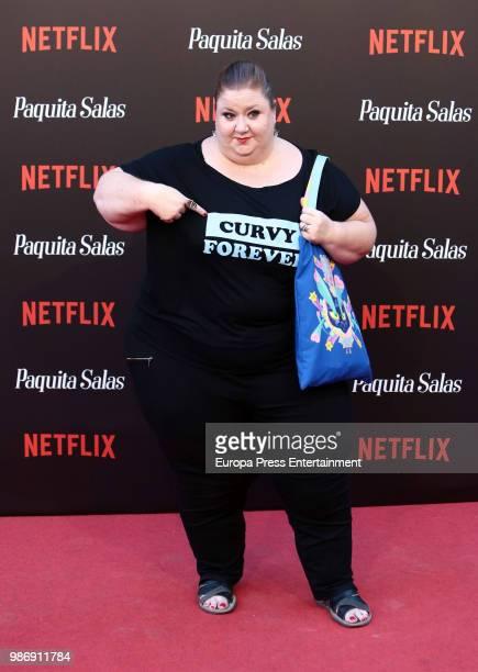 Itziar Castro attends World Premiere of Netflix's Paquita Salas Season 2 on June 28 2018 in Madrid Spain