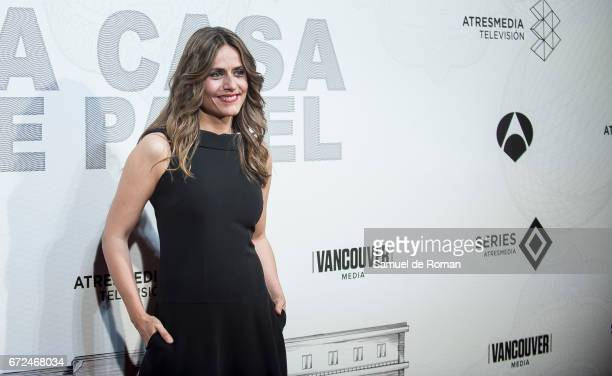Itziar Ituno attends 'La Casa de Papel' Madrid Premiere on April 24 2017 in Madrid Spain