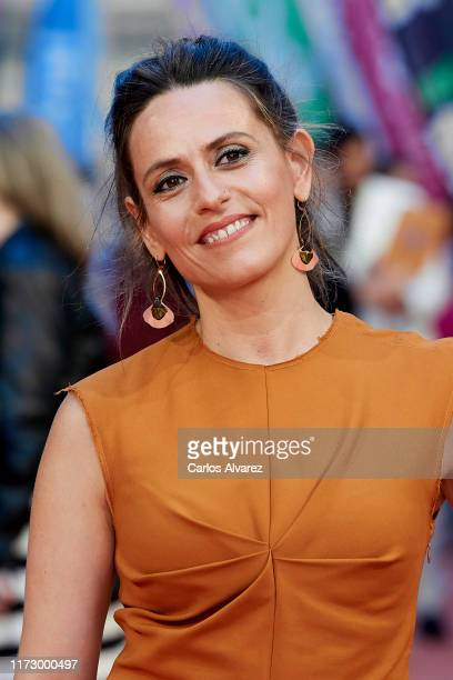 Itziar Ituno attends red carpet closing day during FesTVal 2019 at Teatro Principal on September 07 2019 in VitoriaGasteiz Spain