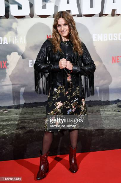 Itziar Ituno attends the 'Highwaymen' film by Netflix premiere at the Cine Capitol on March 25 2019 in Madrid Spain